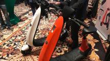 OjO, una scooter eléctrica que cabe en cualquier sitio
