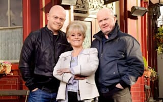 Peggy Mitchell reunited with sons Grant and Phil ahead of EastEnders exit