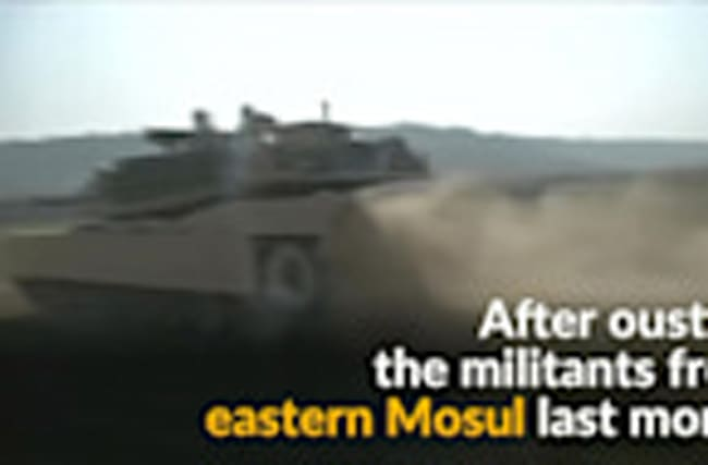 Iraqi forces capture Mosul airport -State TV