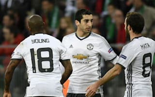 Saint-Etienne 0 Manchester United 1 (0-4 agg): Mkhitaryan on target before injury scare