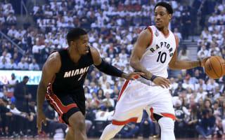 Raptors outlast Heat in OT, level series