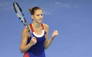 Fed Cup final level after Pliskova triumphs in marathon match
