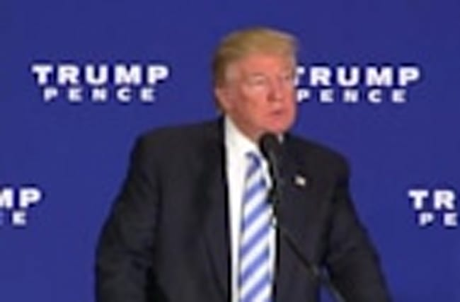 Trump's Gettysburg address