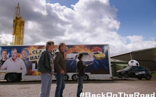 Video: Clarkson, Hammond and May back on the road post-Top Gear
