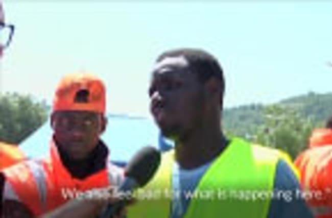 Migrants help quake relief efforts in Italy