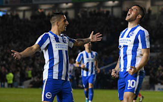 Championship Review: Brighton move top, Nugent hat-trick sinks Fulham