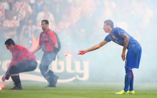 Czech Republic 2 Croatia 2: Injury-time Necid penalty earns draw amid crowd disruption