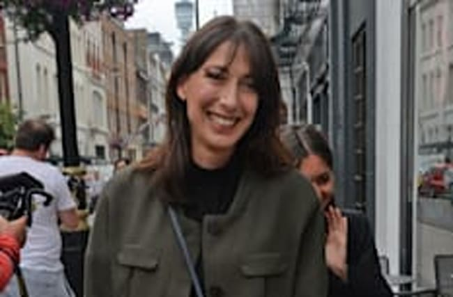 Millionaire Samantha Cameron can't afford designer clothes