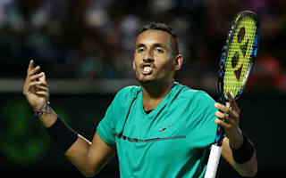 Kyrgios eager to get crowds onside after Miami boos