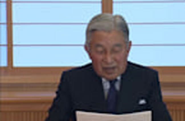 Japan moves toward law for Emperor's abdication