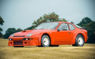 Ultra rare Porsche 924 Carrera GTR heading to auction