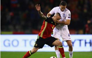 He's a phenomenon - Manolas casts doubt over Nainggolan's Roma future