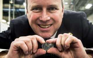 Commemorative Churchill coin pleases great grandson
