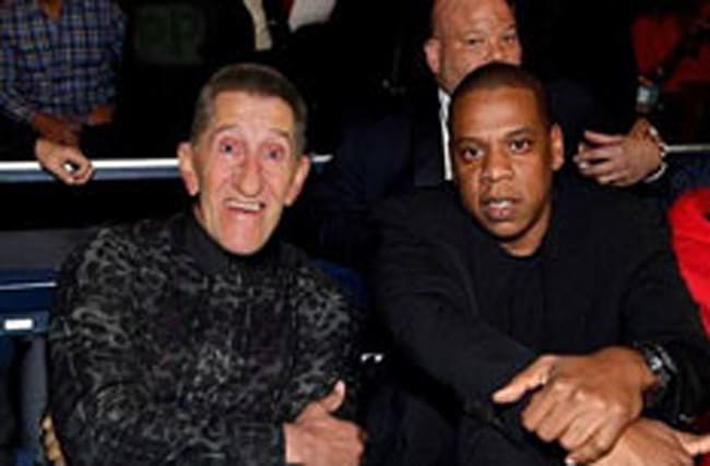 Did Barry Chuckle really go to the boxing with Jay-Z?