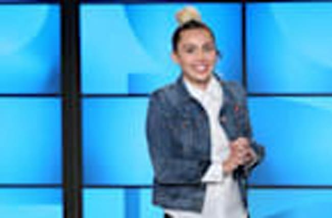 Miley Cyrus Jokes She 'Kissed a Girl' Before Guest Hosting 'The Ellen DeGeneres Show'