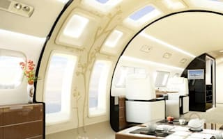 New private jet offers amazing views with skylights