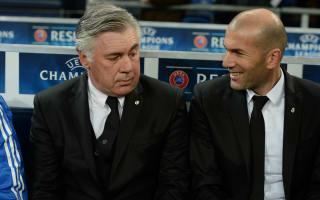 Ancelotti: Zidane has charisma to manage Madrid