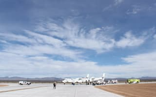 NASA charters a flight from Virgin Galactic's spaceport
