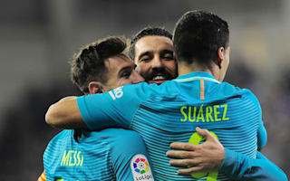 Eibar 0 Barcelona 4: MSN see Barca to victory after Busquets blow