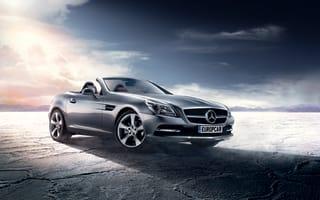 Win! Hire of a Mercedes-Benz SLK Convertible, courtesy of Europcar