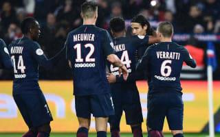 Paris Saint-Germain 5 Lorient 0: Nice's advantage cut as champions find form