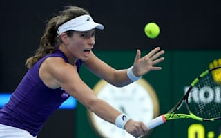 Konta wins battle of Britain as Stosur crashes out in Hong Kong