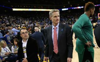 Kerr proud of Warriors after Celtics halt winning run