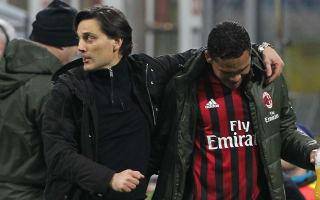 AC Milan coach Montella focused on Europe, not Inter