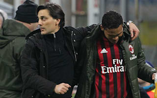 AC Milan coach Montella focused on Europe, not Inter