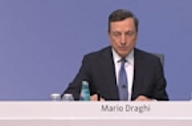 Strong France, solid Germany put ECB in spotlight