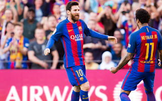 Neymar: Time for Barcelona to sort Messi's new contract