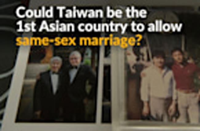 Taiwanese divided over gay marriage ruling