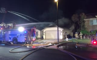 Plane crashes into couple's home while they're watching TV
