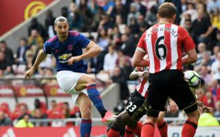 Sunderland 0 Manchester United 3: Ibrahimovic, Mkhitaryan keep top-four chase alive