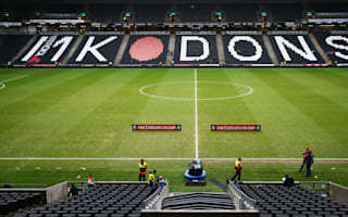 MK Dons launch investigation into player behaviour at Cheltenham