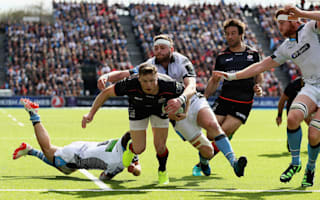 Ashton matches Champions Cup record as Saracens surge into semis