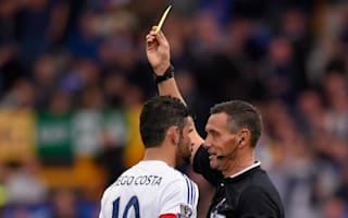 Costa: I would be banned if I gave my opinion on referees