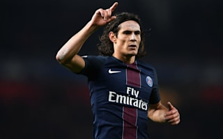 Lyon 1 Paris Saint-Germain 2: Cavani double takes champions to within a point of Nice