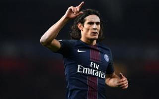 Lyon 1 Paris Saint-Germain 2: Cavani double takes champions to within a point of Nice