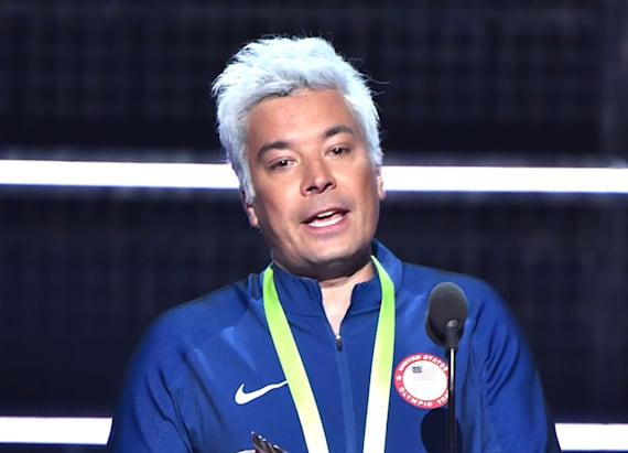 Jimmy Fallon mocks Ryan Lochte at VMAs
