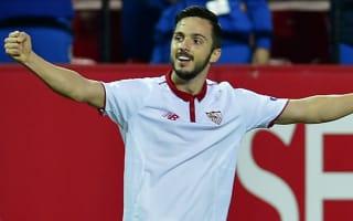 Sevilla 2 Eibar 0: Sampaoli's side move up to second