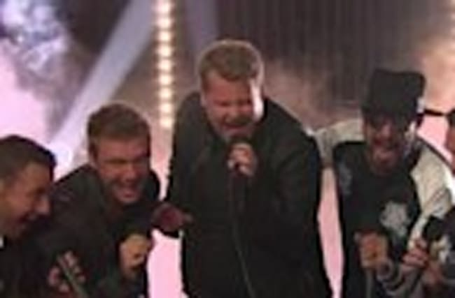 James Corden Joins The Backstreet Boys In EPIC Return