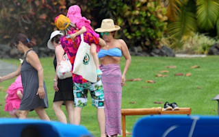 Lisa Marie Presley enjoys family holiday in Hawaii