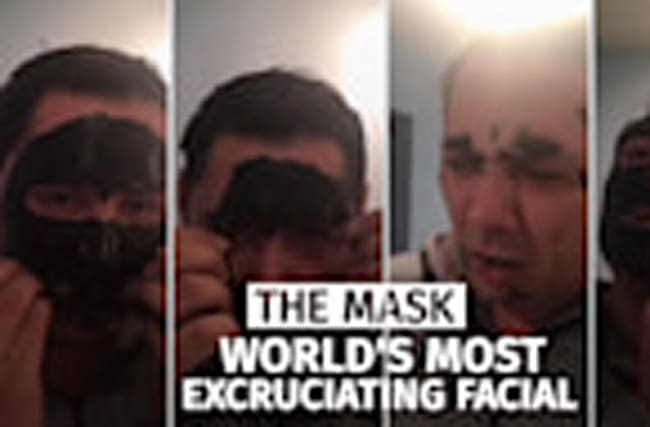 The mask: World's most excruciating facial