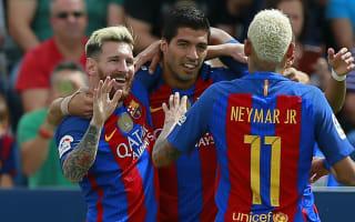 Leganes 1 Barcelona 5: MSN revel in LaLiga reunion