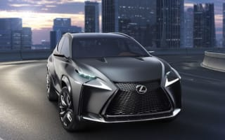 Lexus turbo-charges LF-NX SUV concept