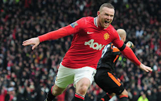 Rooney named China's fifth most popular player, Ronaldo on top