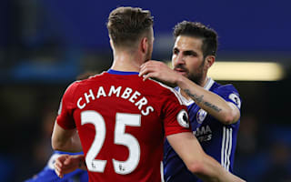 Fabregas proud of personal record as Chelsea close in on Premier League title