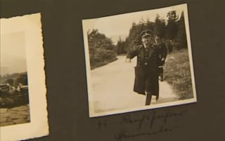 Eva Braun's Hitler photo album up for auction