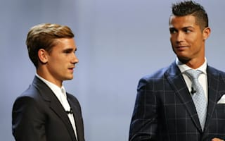Griezmann: I have a lot of respect for Ronaldo
